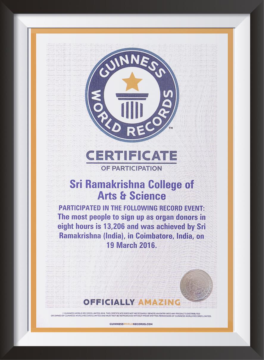 Sri Ramakrishna College of Arts and Science | Sri